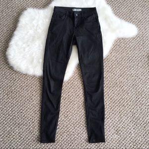 Topshop Black Leigh Skinny Jeans